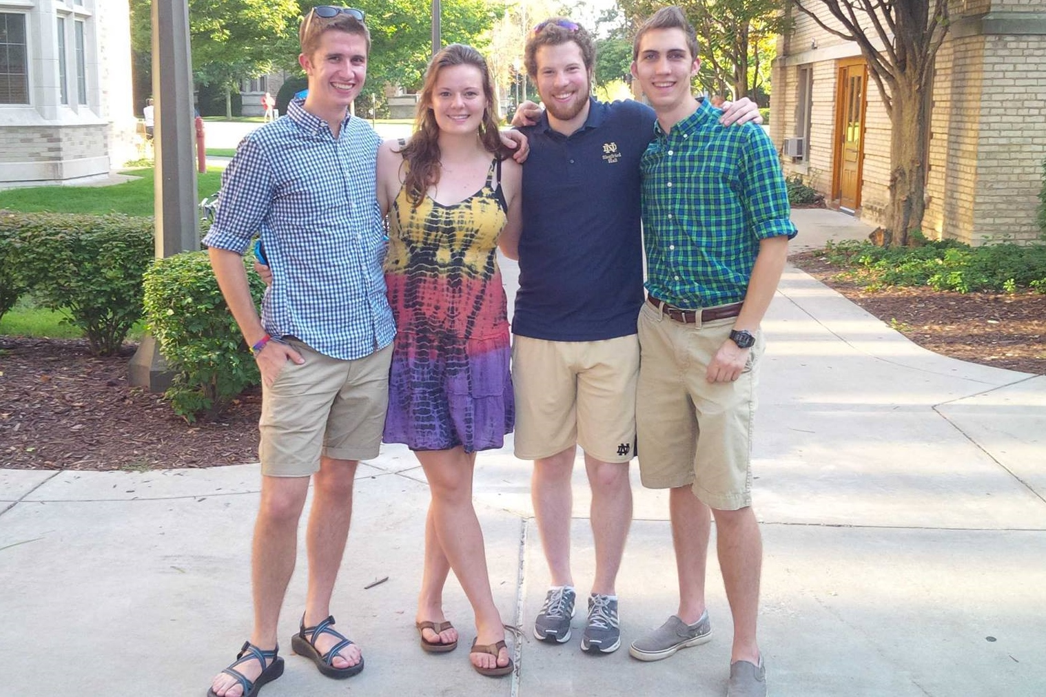 Connor Hayes (co-president & co-founder), Lauren Morisseau, Alex Coccia (two leaders of the 4 to 5 movement), and me.