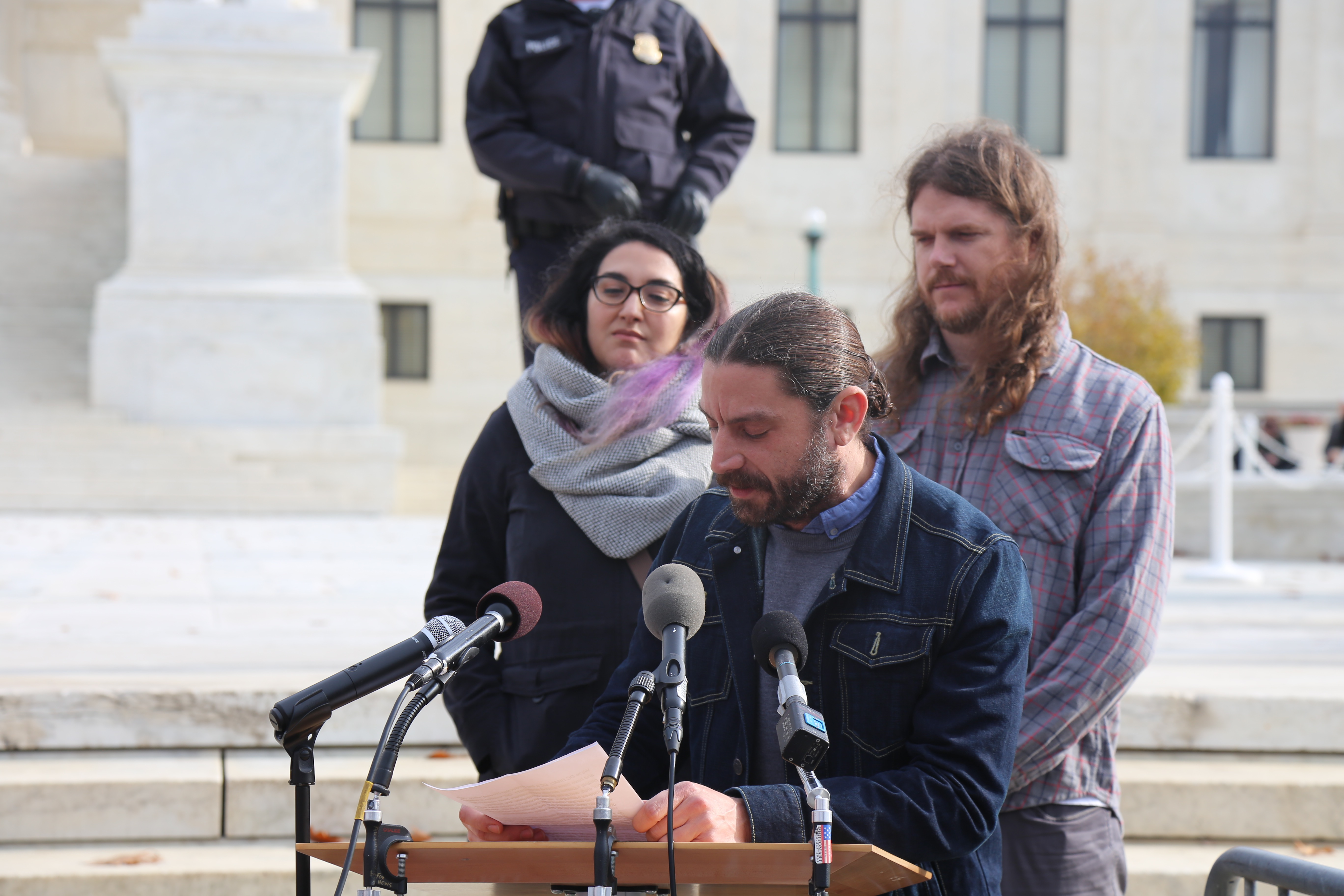 DC Brau Owners Speak at #OpenToAll Rally